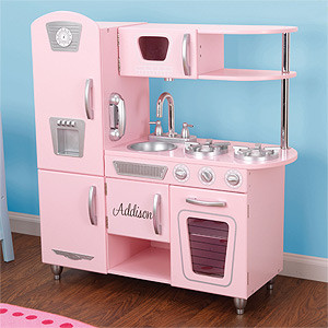 Personalized Vintage Kids Kitchen Set
