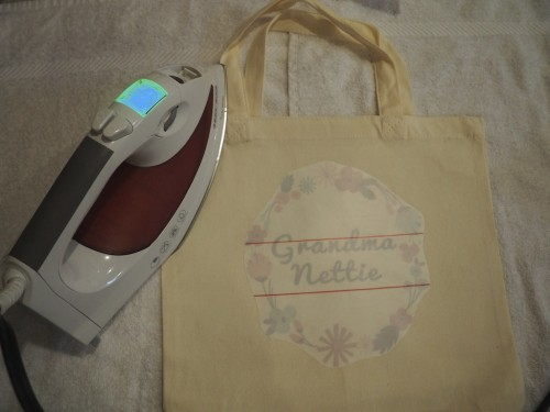 DIY Personalized Canvas Tote Bags