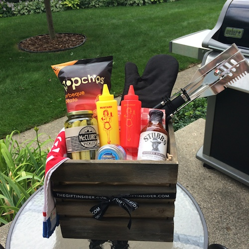 DIY Summer BBQ Gift Basket