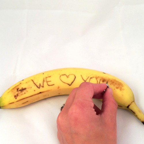 Banana Lunchbox Note