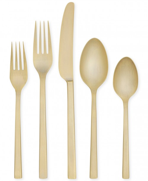 gold_flatware_wedding_trends