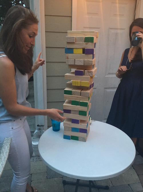 DIY Party Jenga