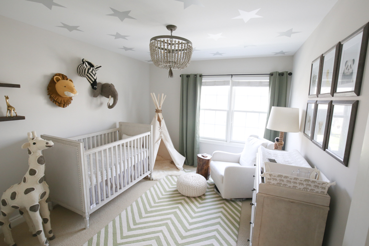 Instead Of The Usual Baby Blues We Went For A Gray And Green Color Scheme That Hopefully He Ll Like As Grows Up Purchased Almost Everything Online