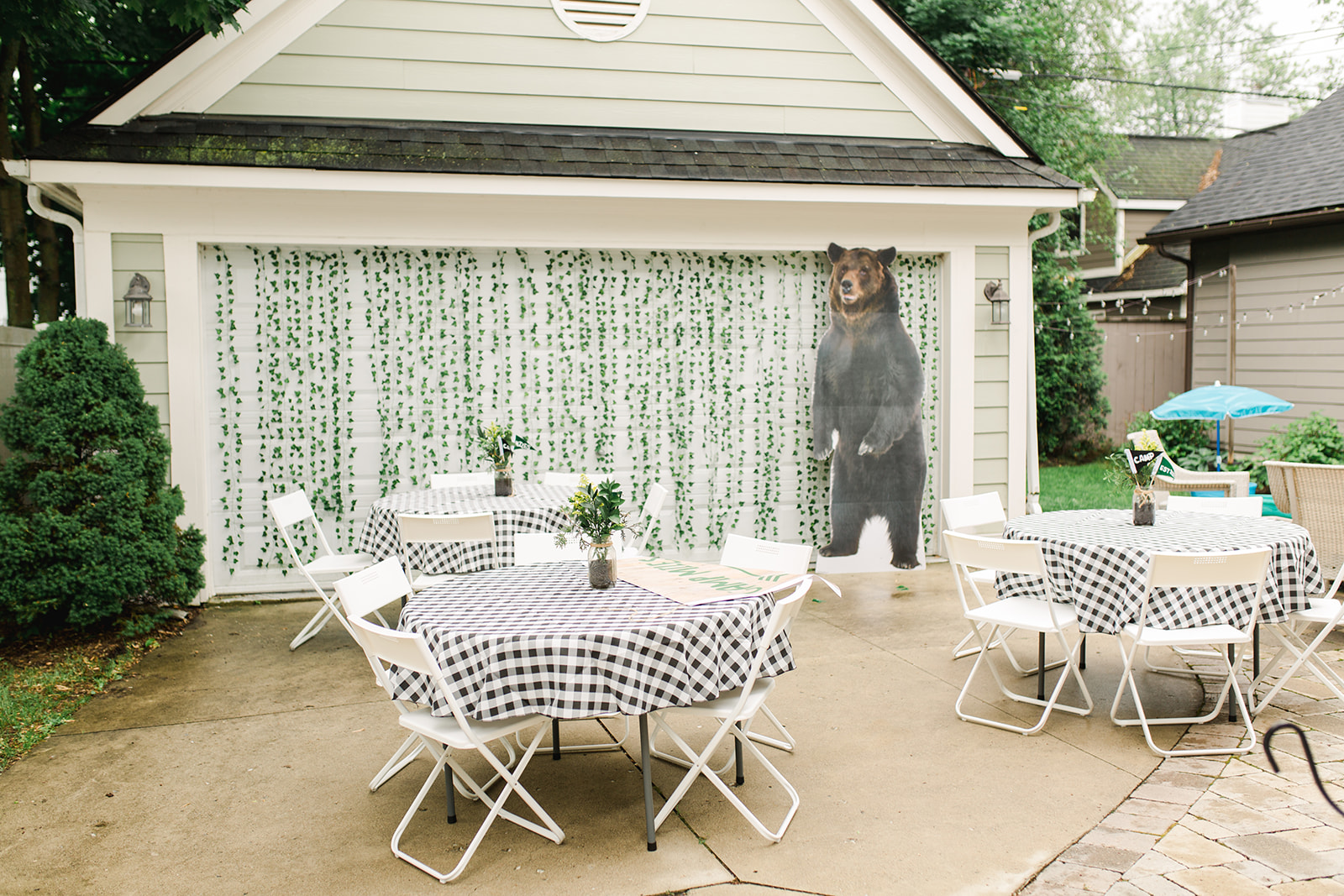 Woodland Backyard Birthday Party