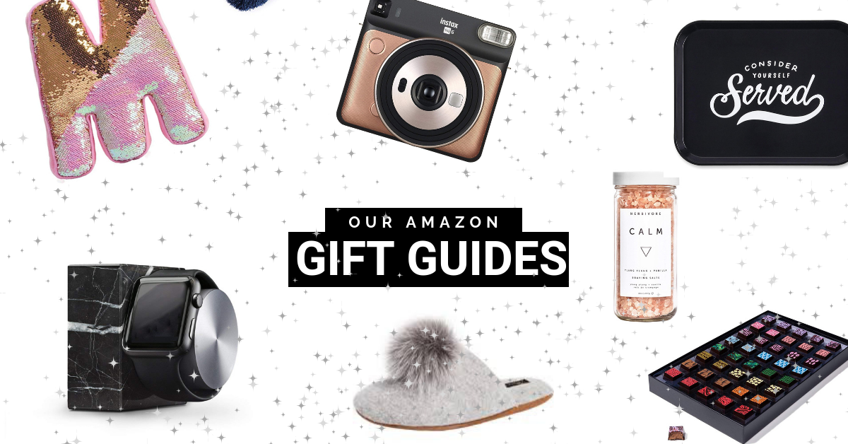 All of Our Amazon Gift Guides in One Spot