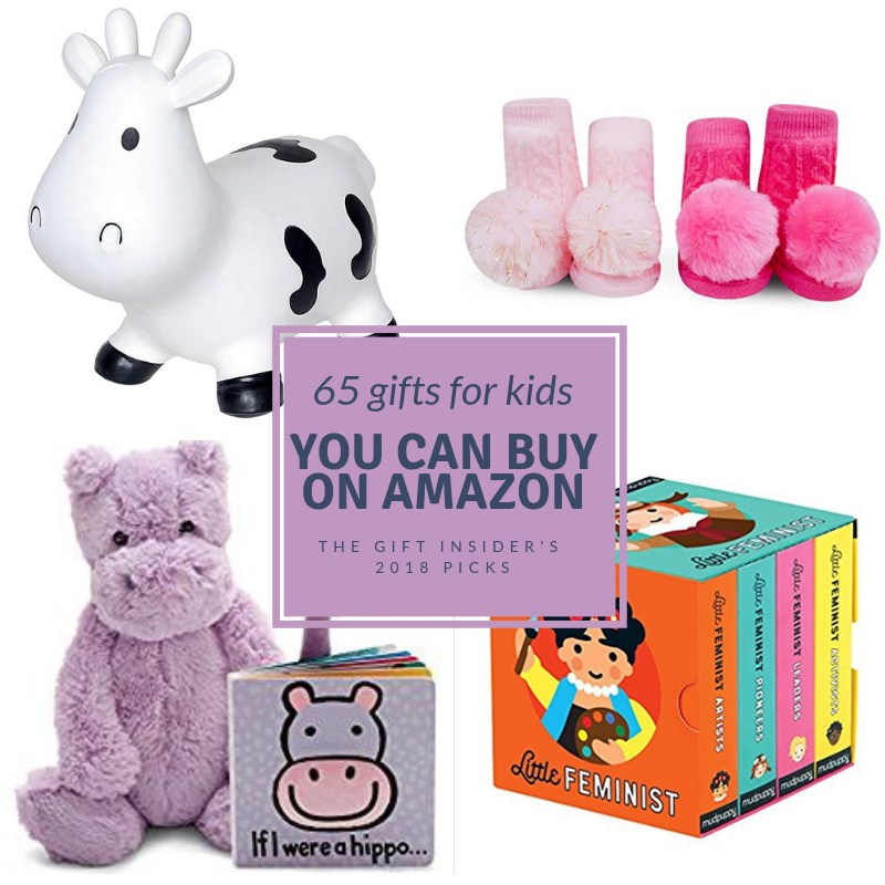 65 Gift Ideas for Babies + Kids You Can Buy On Amazon