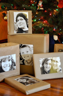 PHOTOGRAPH WRAPPING PAPER