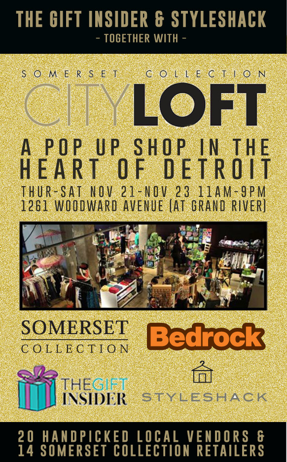 CityLoft Detroit Pop Up Shop
