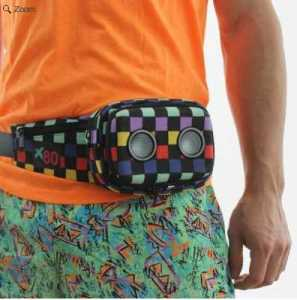 stereo fanny pack