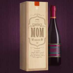 Box for a Bottle for Mom