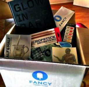 the fancy monthly box