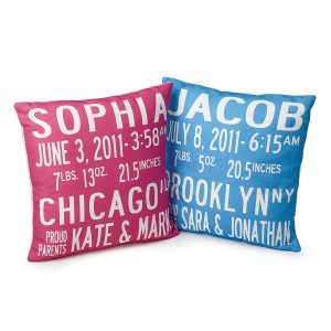 Customized Baby Pillows