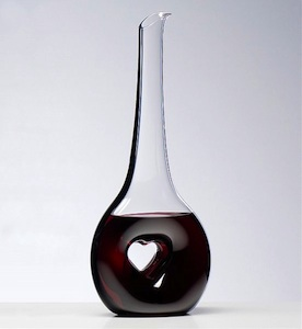 Reidel Heart Wine Decanter