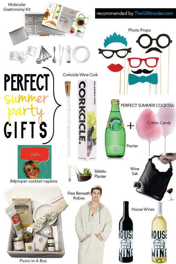 Summer Party Gift Ideas TheGiftInsider