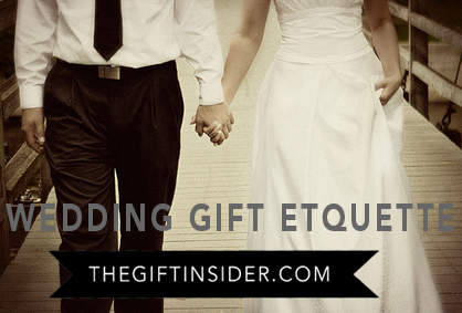 Wedding Gift Etiquette Questions