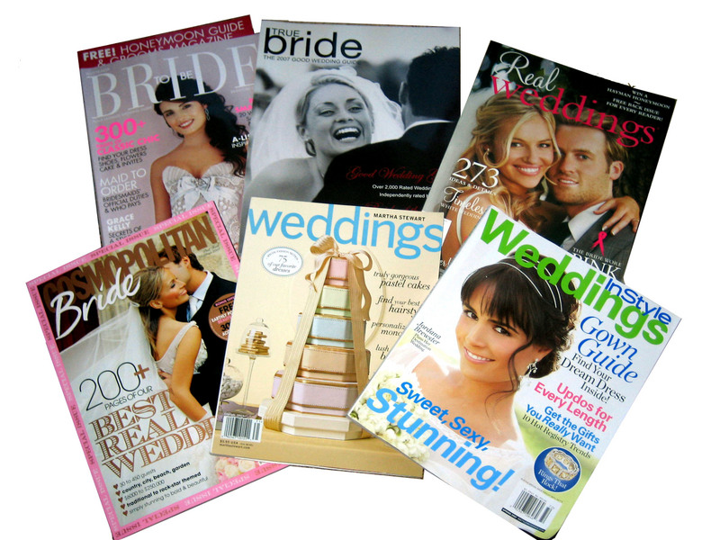 Engagement Gift Ideas: Bridal Magazines