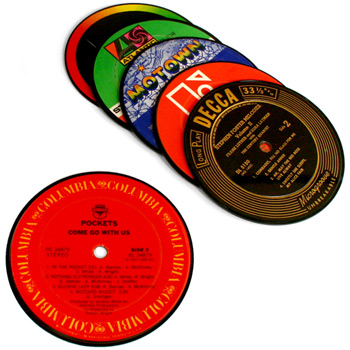 Record Coasters