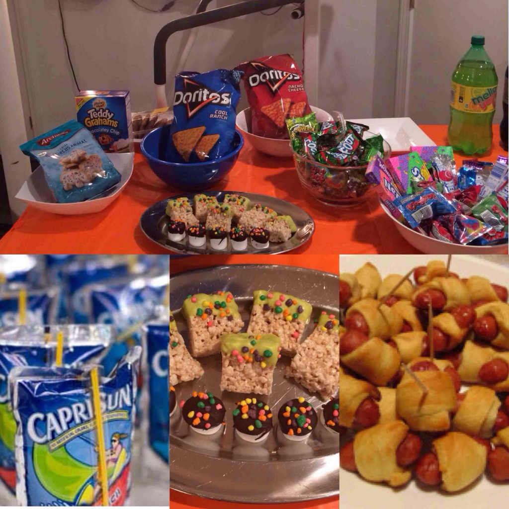 90s Party Food Ideas
