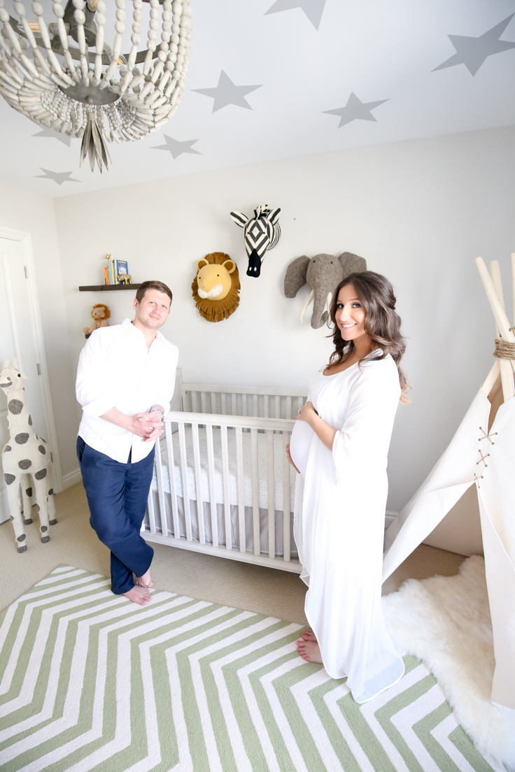 Our Little Baby Boy S Neutral Room: Baby Schey's Safari-Themed Nursery Reveal « The Gift Insider