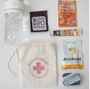 DIY Hangover Kit