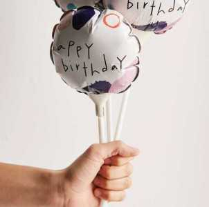 Mini Birthday Balloons