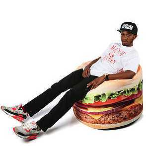 Hamburger Beanbag Chair