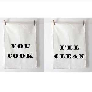You Cook, I clean