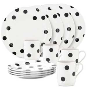 Polka Dot Dinnerware Set
