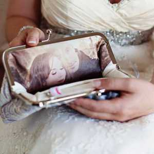Photo lined Clutches