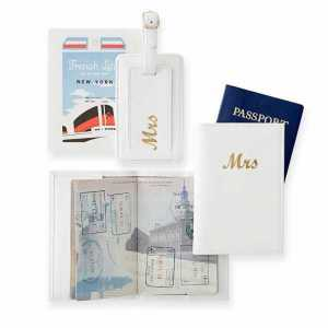 Mrs. Passport Cover & Luggage Tag
