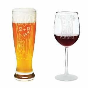Tree Trunk Glassware