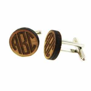 Cufflinks-Bamboo or Silver