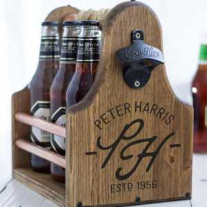 Beer Carrier Personalized