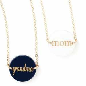 Personalized Enamel Necklaces