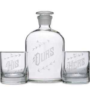 Ours Decanter Glass Set