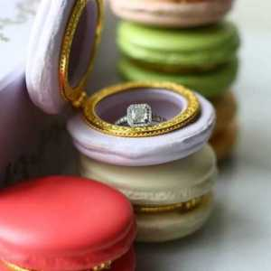 Macaron Limoges Jewelry Cases