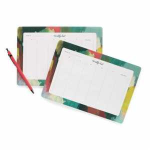 Paint Strokes Planner Sheets
