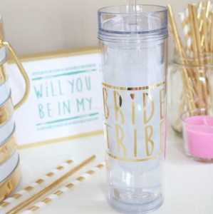 Bride Tribe Water Bottle