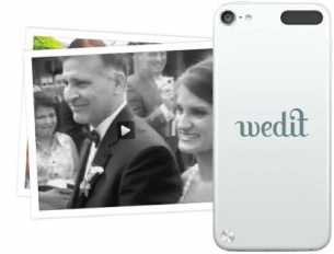Guests make Wedding Video