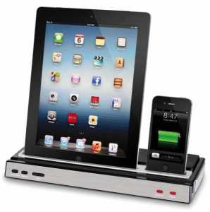 iPad & iPhone Speaker Dock