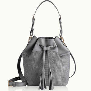 Graphic Image Bucket Bag