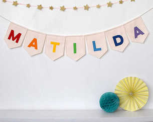 Personalized Name Bunting