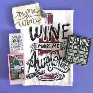 Wine Themed Gift Box