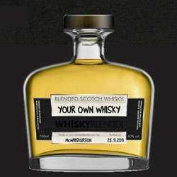 Custom Blended Whisky