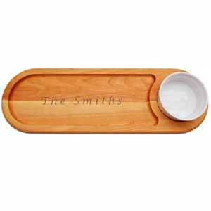 Personalized Dip & Serve Board