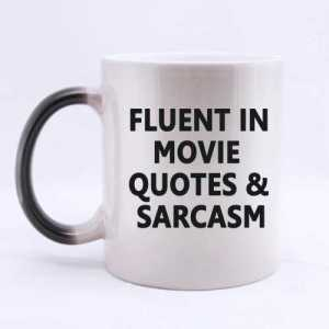 Fluent in Movie Quotes Mug
