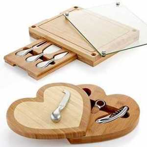 Wine and Cheese Hidden Cutting Boards