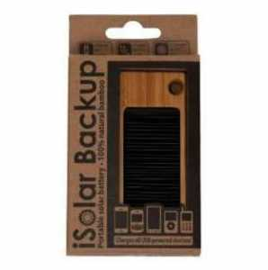 Solar Wood Phone Charger