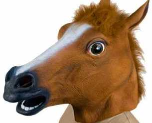 giant horse head mask