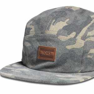 Unisex Camo Hat by Toms